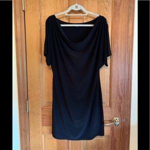 MSK Black Cold Shoulder Dress